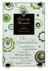 Grandchildren Photo Frame w/Heart