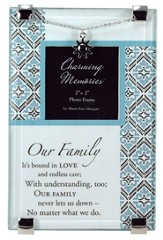 Family Photo Frame w/Charm