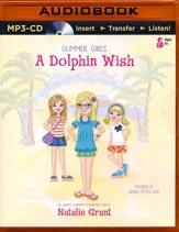 A Dolphin Wish - unabridged audio book on MP3-CD