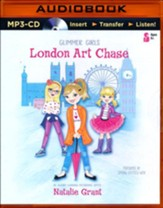 London Art Chase - unabridged audio book on MP3-CD