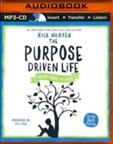 The Purpose Driven Life Devotional for Kids - unabridged audio book on MP3-CD