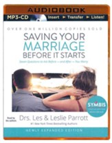 Saving Your Marriage Before It Starts, Unabridged MP3-CD