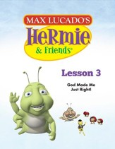 Hermie Curriculum Lesson 3: God Made Me Just Right!: Companion to Skeeter and the Mystery of the Lost Mosquito Treasure Episode - PDF Download [Download]