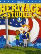 BJU Press Heritage Studies Visuals, Grade 1, 3rd Edition