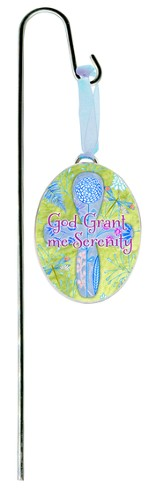 God Grant Me the Serenity Plant Stake