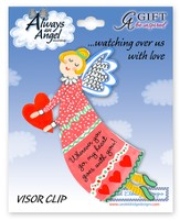 Wherever You Go, My Heart Goes With You, Angel Visor Clip