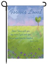 Forever Loved, Landscape Flag, Small