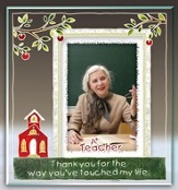 Thank You Teacher Photo Frame