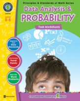 Data Analysis & Probability - Task Sheets Gr. 6-8 - PDF Download [Download]