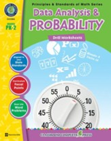 Data Analysis & Probability - Drill Sheets Gr. PK-2 - PDF Download [Download]