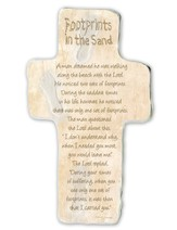Footprints In the Sand, Cross Plaque