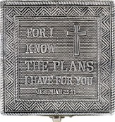 For I Know the Plans I Have For You Keepsake Box