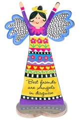 Best Friends Are Angels In Disguise, Angel Figurine