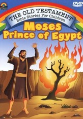 Moses Prince of Egypt, DVD