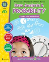 Data Analysis & Probability - Task & Drill Sheets Gr. PK-2 - PDF Download [Download]