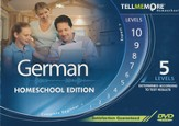 Tell Me More Homeschool German, Complete Edition DVD-ROM