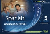 Tell Me More Homeschool Spanish, Complete Edition DVD-ROM