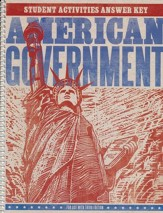 American Government Student Activity Answer Key, 3rd Edition