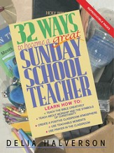 32 Ways to Become a Great Sunday School Teacher - eBook