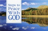 Steps to Peace with God, pack of 25 tracts