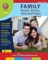 Family: Homes, Chores, Sizes & Types Gr. 1 - PDF Download [Download]