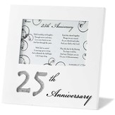 25th Anniversary Photo Frame, United in God's Love
