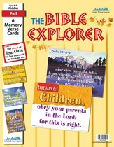 Bible Explorer Middler (Grades 3-4) Memory Verse  Visuals