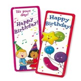 Happy Birthday Bookmarks (30 bookmarks)