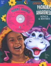 Phonemic Awareness Songs & Rhymes: Spring Book & CD