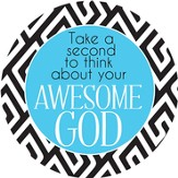 Awesome God Magnet