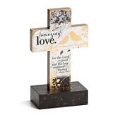 Amazing Love Cross Pedestal