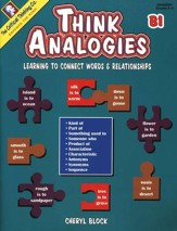 Think Analogies Book B1, Grades 6-8