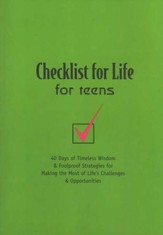 Checklist For Life for Teens