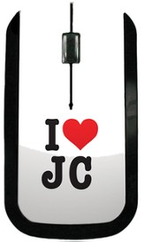I Heart JC USB Wireless Mouse