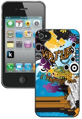 Virtue, I Timothy 4:12 iPhone 4 Case