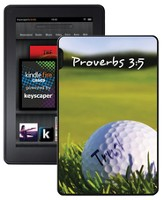 Golf, Proverbs 3:5 Kindle Fire Case