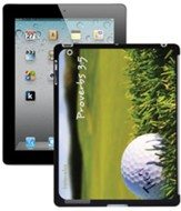 Golf, Proverbs 3:5 iPad Case