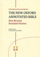 NRSV New Oxford Annotated Bible, 4th Ed. Hardcover College Edition