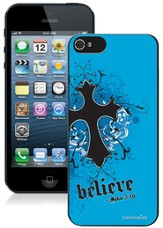 Cross iPhone 5 Case, Blue