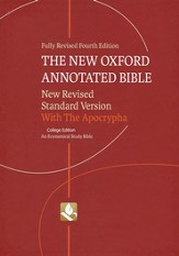 NRSV New Oxford Annotated Bible 4th Edition with Apocrypha, College Edition, Hardcover