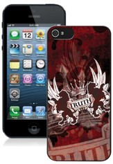 Truth Lion iPhone 5 Case, Red