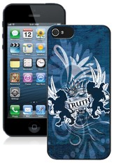 Truth Lion iPhone 5 Case, Blue