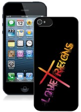 Love Reigns iPhone 5 Case, Black