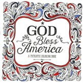 God Bless America: A Patriotic Adult Coloring Book