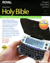 ESV/KJV Royal Electronic Bible
