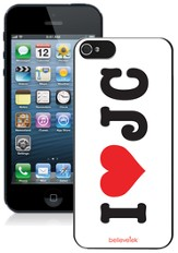 I Heart JC iPhone 5 Case