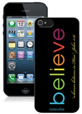 Believe iPhone 5 Case, Black