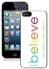 Believe iPhone 5 Case, White
