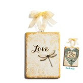 Love, Love Never Fails Ornament