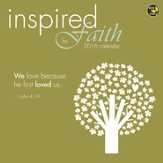 2016 Inspired By Faith Wall Calendar